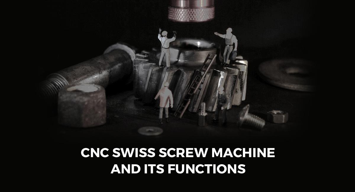 Swiss Screw Machining Services
